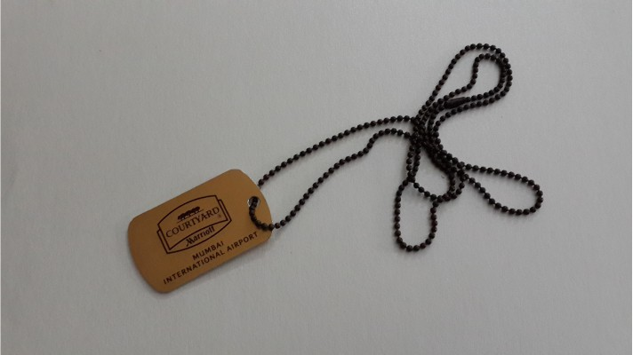 Aluminum Dog Tags - 01