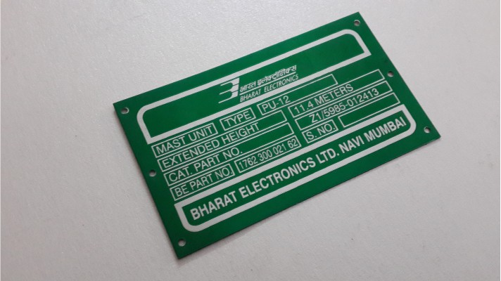 Aluminum Labels - 04