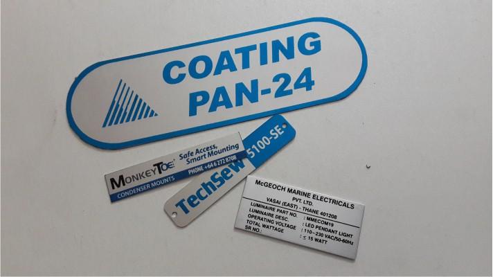 Aluminum Labels - 11