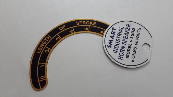 Aluminum Labels - 12