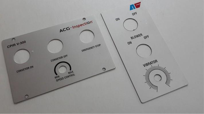 Aluminum Labels - 17
