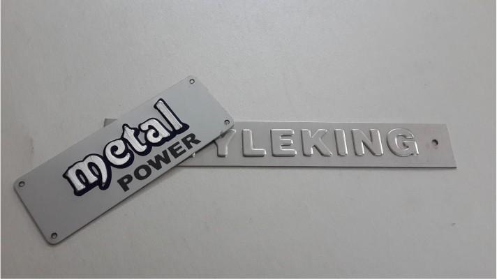 Aluminum Labels - 18