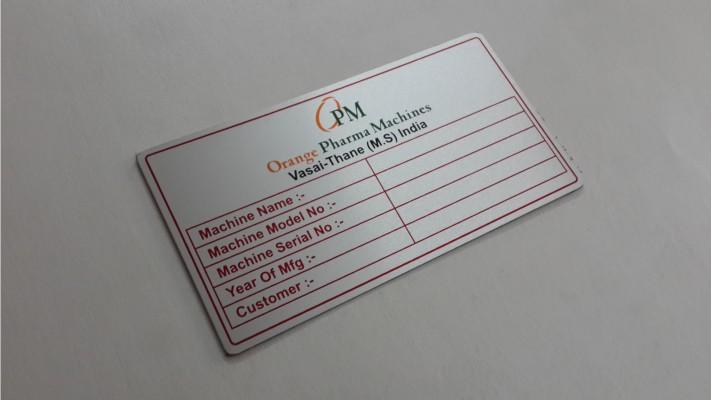 Aluminum Labels - 19