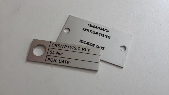 Aluminum Engraved Tags - 03