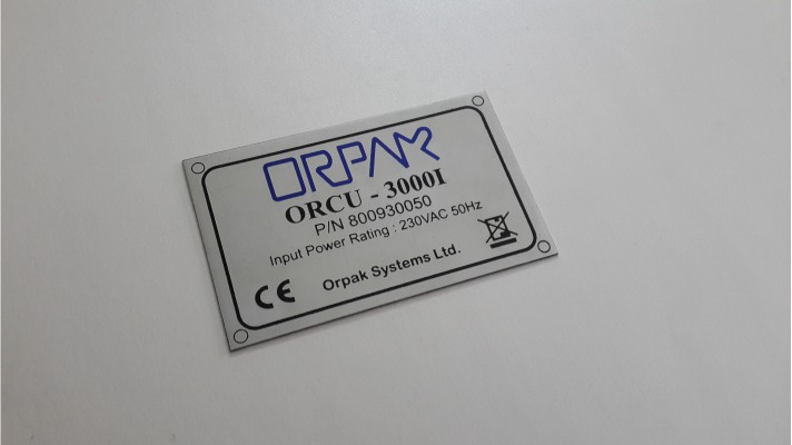 Aluminum Engraved Tags - 06