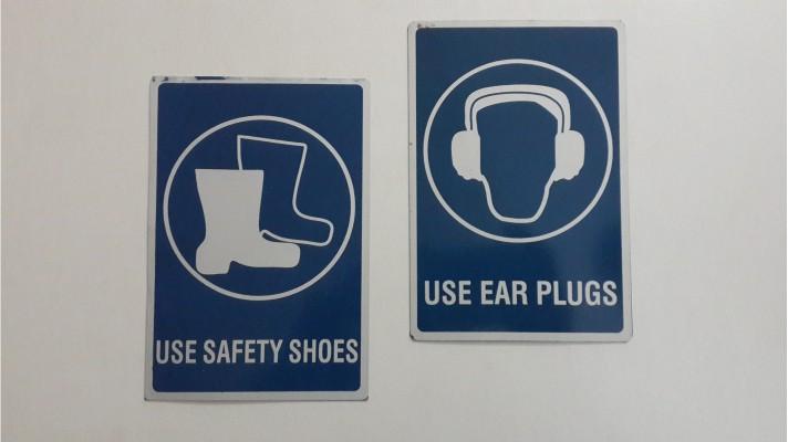 Aluminum Warning Labels Signages - 02
