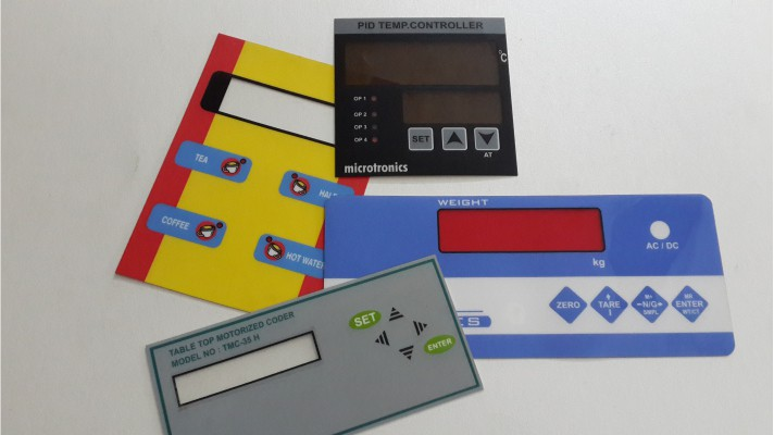 Polycarbonate Control Panel Labels - 01