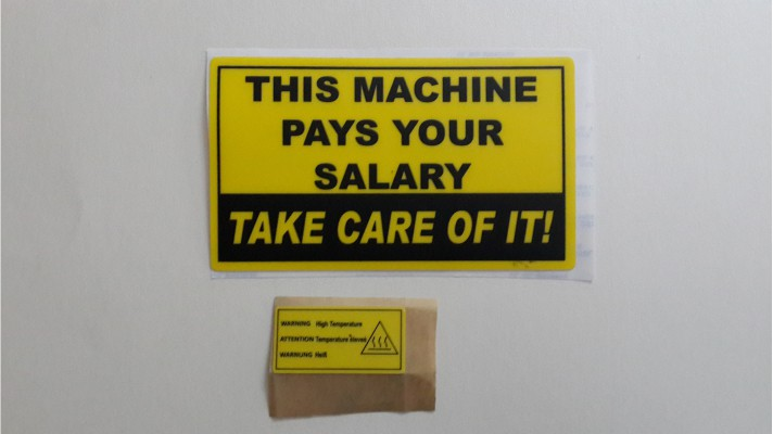 Polycarbonate Warning Labels - 02
