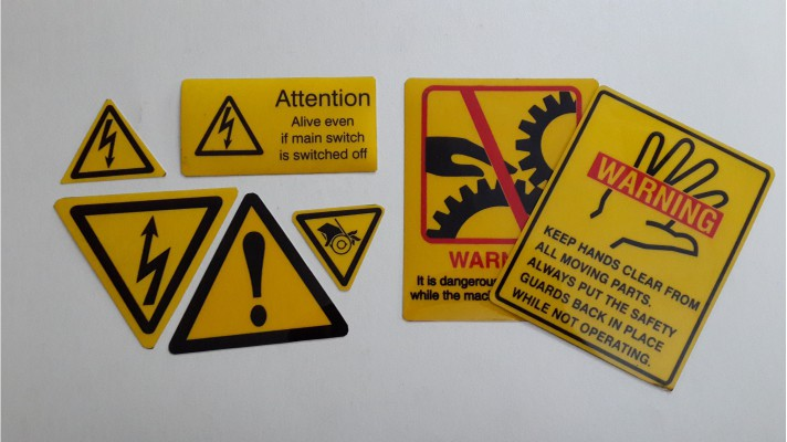 Polycarbonate Warning Labels - 03