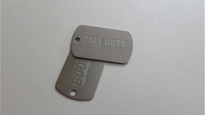 Stainless Steel Dog Tags - 01