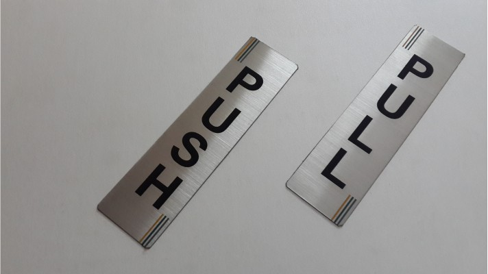 Stainless Steel Labels - 04