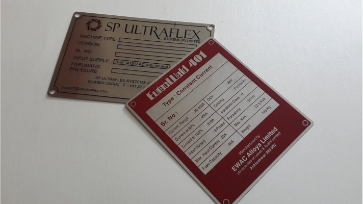 Stainless Steel Labels - 06